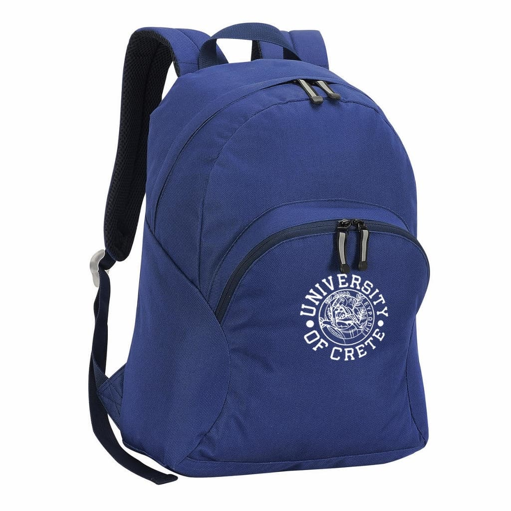 Sport Backpack University of Crete Logo Blue (1024x1024)